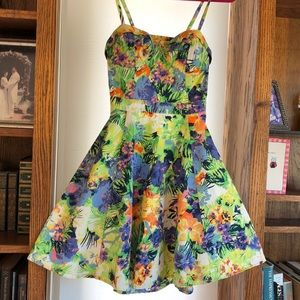 Jessica Simpson floral sundress